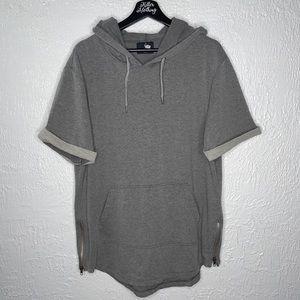 Women's Grey Airavata Hoodie T-Shirt